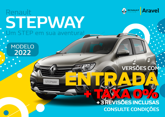Stepway - Oferta Abril